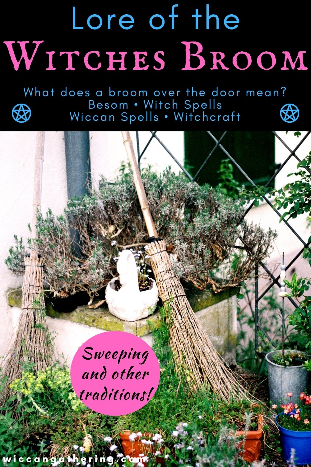 What Does a Broom Over the Door Mean