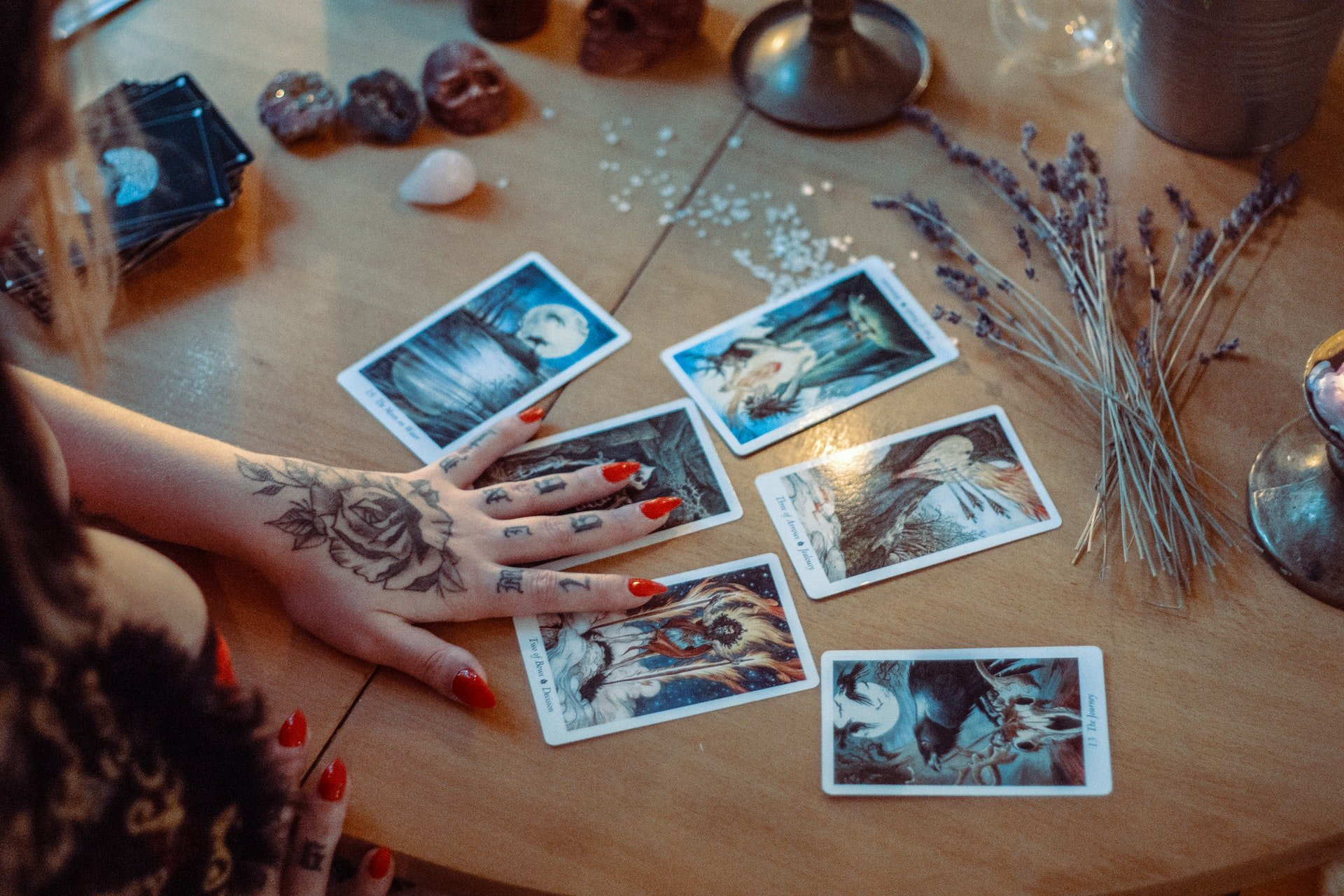 Wiccan Tarot Spreads