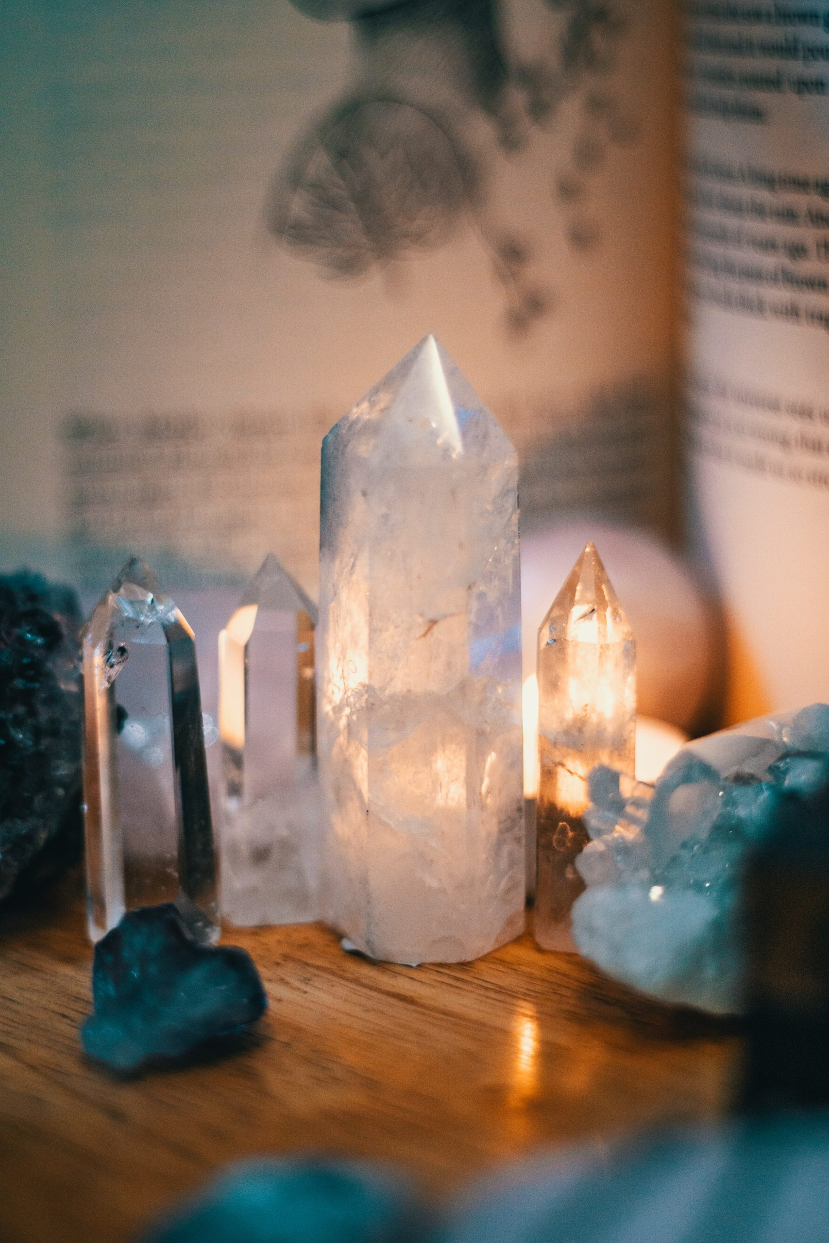 Wiccan Crystal Grids