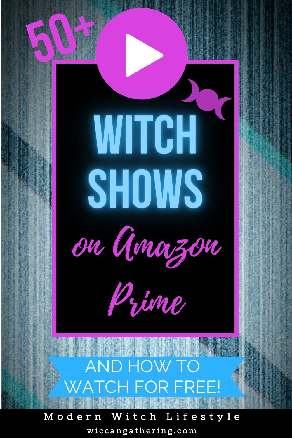 best witch shows on amazon prime pin