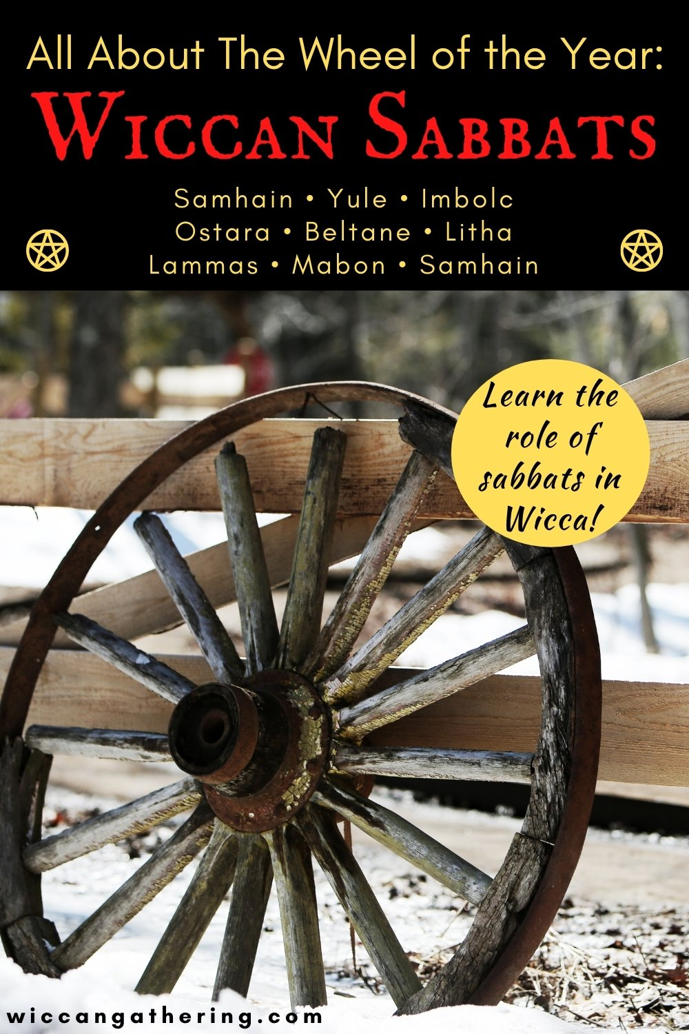 Wiccan Sabbats Wheel of the Year