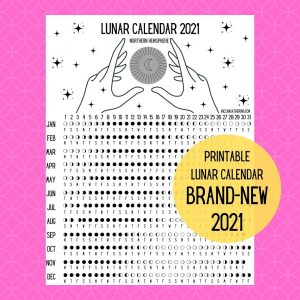 witch printable lunar calendar downloadable