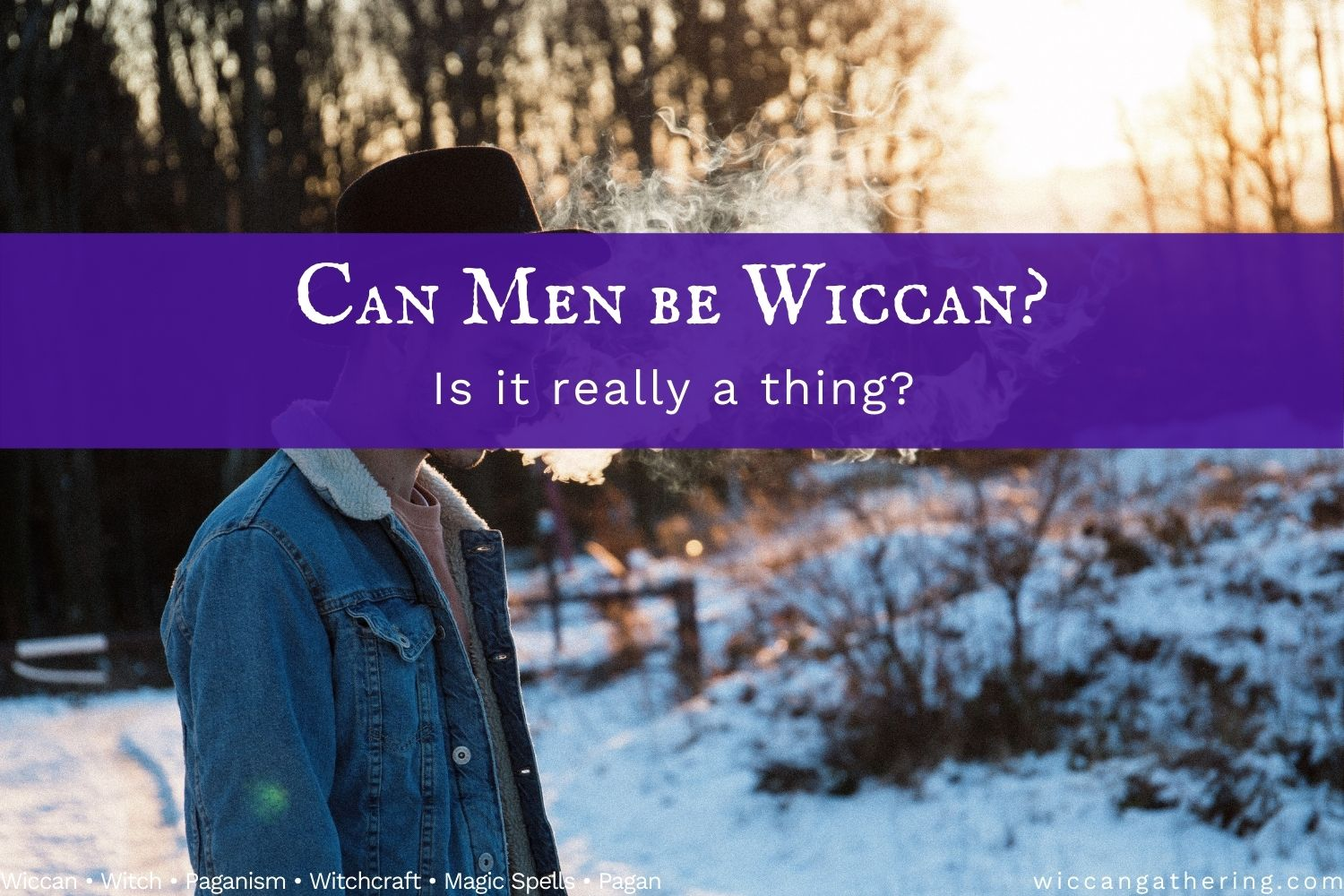 can men be wiccan